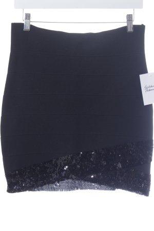 Poof Couture Minirock schwarz Casual-Look