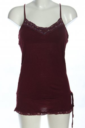 Poof Couture Spitzentop purpur Casual-Look