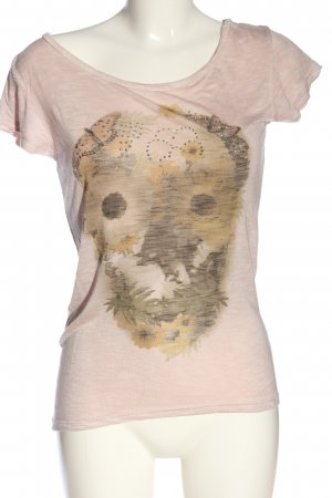 Poolgirl T-shirt Stampa a tema stile casual