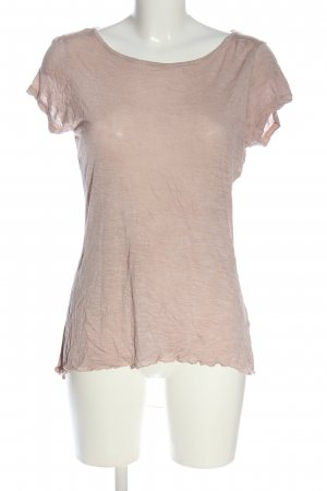 Poolgirl Blusa trasparente rosa stile casual