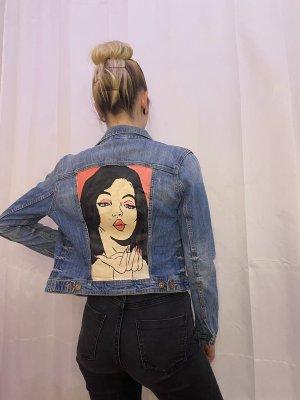 Pop Art - Jeansjacke