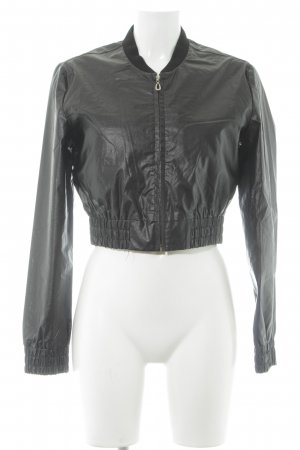 Pop Blouson schwarz Casual-Look