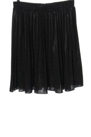 pop Copenhagen Pleated Skirt black casual look