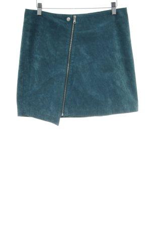 pop cph Kunstlederrock grün extravaganter Stil
