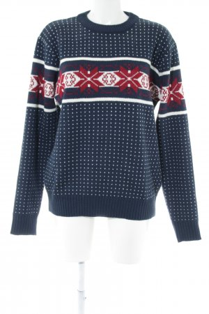 Pop Norwegian Sweater abstract pattern simple style