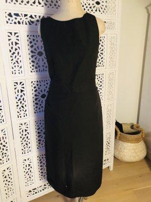 Poplin Kleid mit Rückendetail