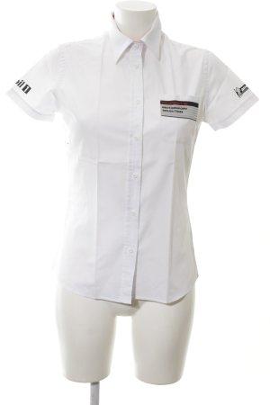 Porsche Design Short Sleeve Shirt white casual look