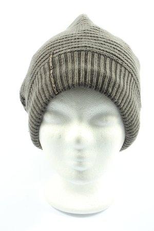 Porsche Design Knitted Hat light grey simple style