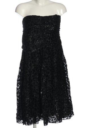 Portara Vestido de baile negro elegante