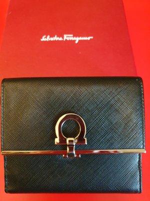 Salvatore Ferragamo SPORT Enveloptas zwart-zilver