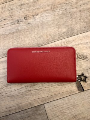 George Gina & Lucy Wallet multicolored leather