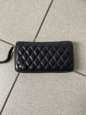 abro Wallet black-gold-colored leather