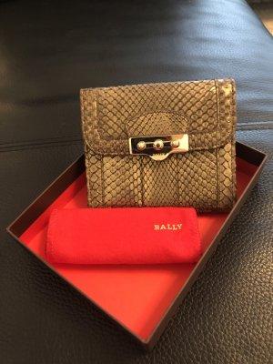 Portemonnaie aus Schlangenleder von Bally *unbenutzt*