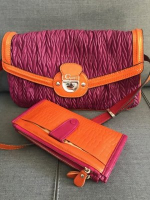 Sleutelhanger oranje-violet