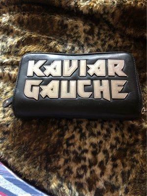 Kaviar Gauche Cartera negro-color plata