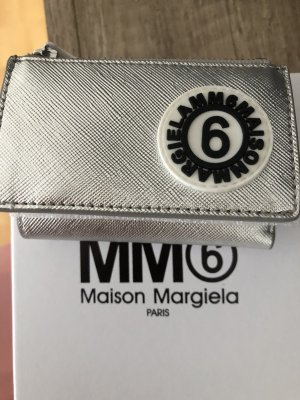 Maison Martin Margiela Cartera color plata-negro