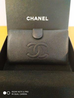 Chanel Portafogli nero-oro
