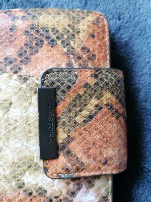 Portemonnaie im Schlangenmuster