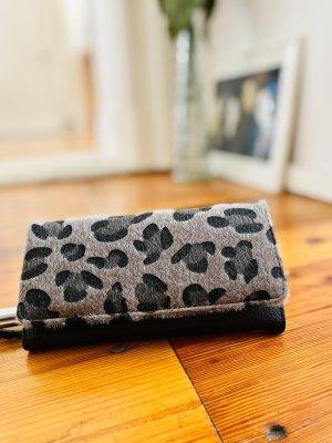 Portemonnaie Leoparden Animal Print Look Geldbörse Rockabilly