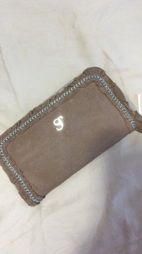 Portemonnaie von Supertrash in Braun mit Rüschen