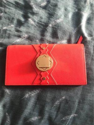 Liebeskind Berlin Portefeuille rouge cuir