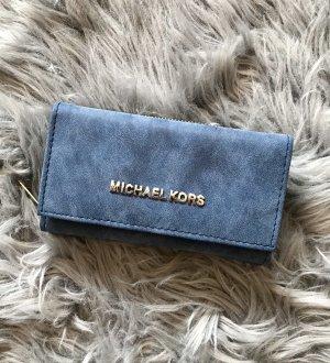 Michael Kors Portefeuille bleu