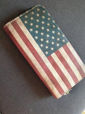 Portmonee Amerika im Vintage-Style