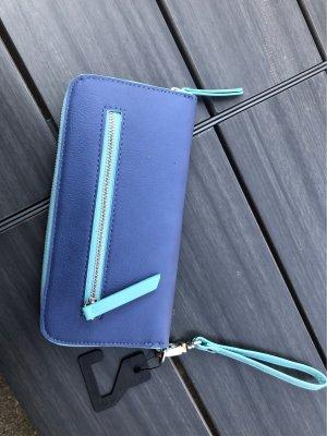 tchibo Portafogli azzurro-blu acciaio