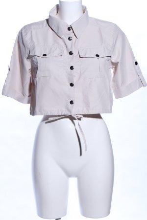 Portobello Cropped Shirt wollweiß Casual-Look