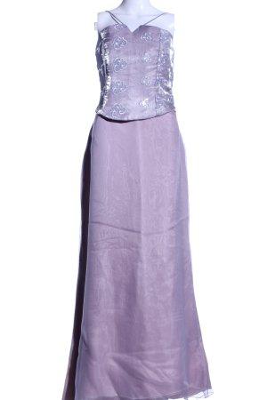 Positano Madrid Corsage Dress lilac elegant