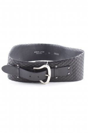 Post & Co Cintura fianchi nero stile casual