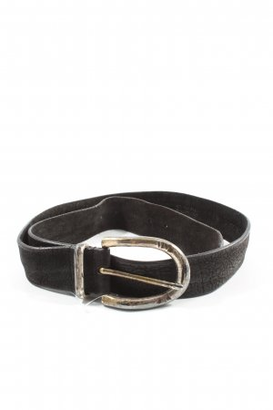 Post & Co Leather Belt brown casual look