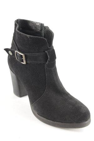 Post Xchange Reißverschluss-Stiefeletten schwarz schlichter Stil