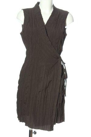 Pourquoi Pas Kopertowa sukienka jasnoszary Elegancki