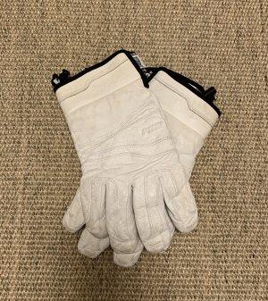 POW Gants thermiques blanc-noir
