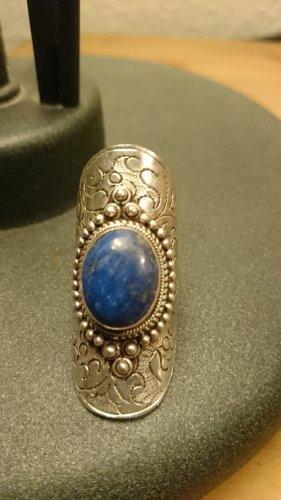 Prachtvoller Lapislazulli Ring - 925 Silber Schmuck