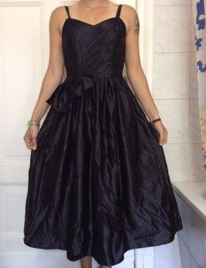 Prachtvolles Kleid/Abendkleid, schwarz glänzend, Gr. S
