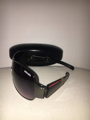 Prada Gafas negro-rojo