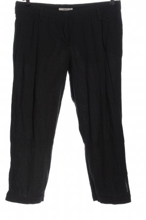 Prada Pantalon 7/8 noir style décontracté