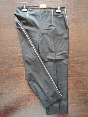 Prada 7/8 Length Trousers black-white wool