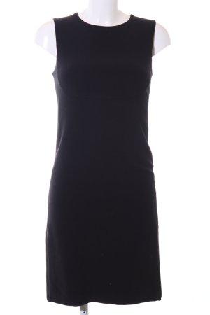 Prada A-lijn jurk zwart zakelijke stijl