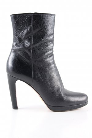 Prada Absatz Stiefel schwarz Casual-Look