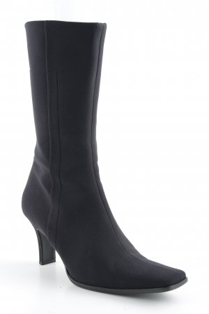 Prada Absatz Stiefel schwarz
