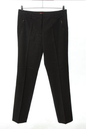 Prada Spodnie garniturowe czarny W stylu casual