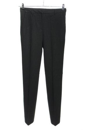 Prada Pantalone da abito nero stile casual