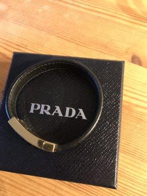 Prada Bracelet black leather