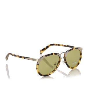 Prada Aviator Tinted Sunglasses