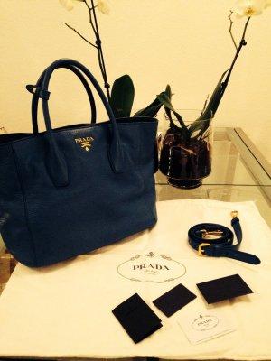 Prada Bag blau, selten getragen