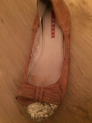 Prada Bailarinas marrón