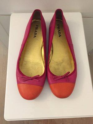 Prada Ballerinas with Toecap multicolored